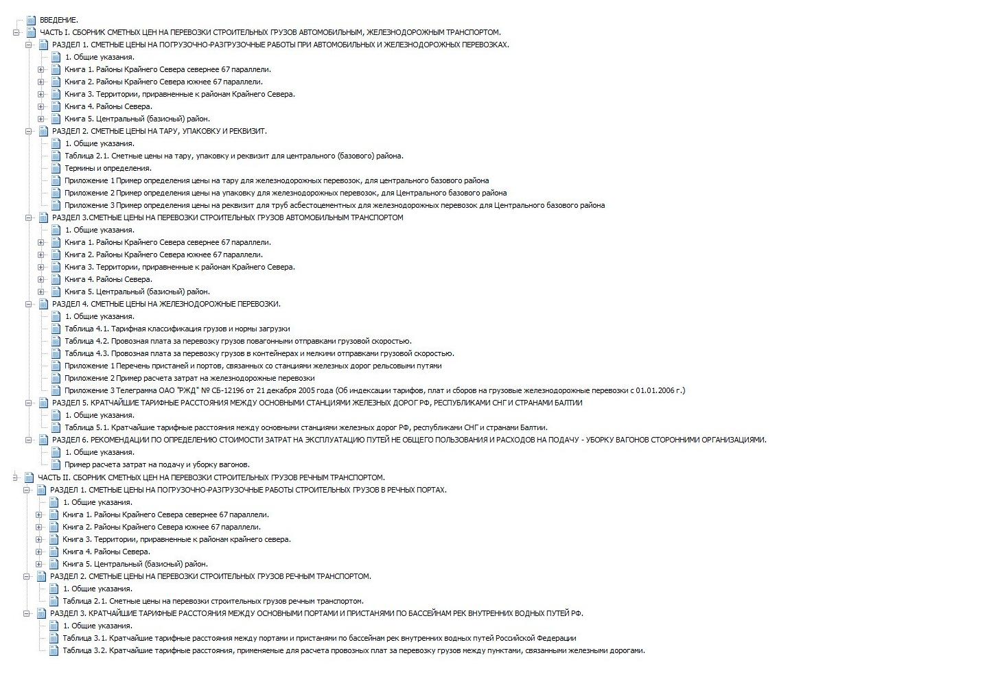 Сборник сметных цен на перевозку строительных грузов автомобильным, железнодорожным и речным транспортом, по состоянию на 01.01.2008 (под ред. О.Н.Черной)