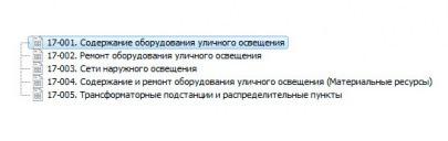 """База данных ч.2 """"Наш город:муниципальное хозяйство"""": «Уличное освещение»"""