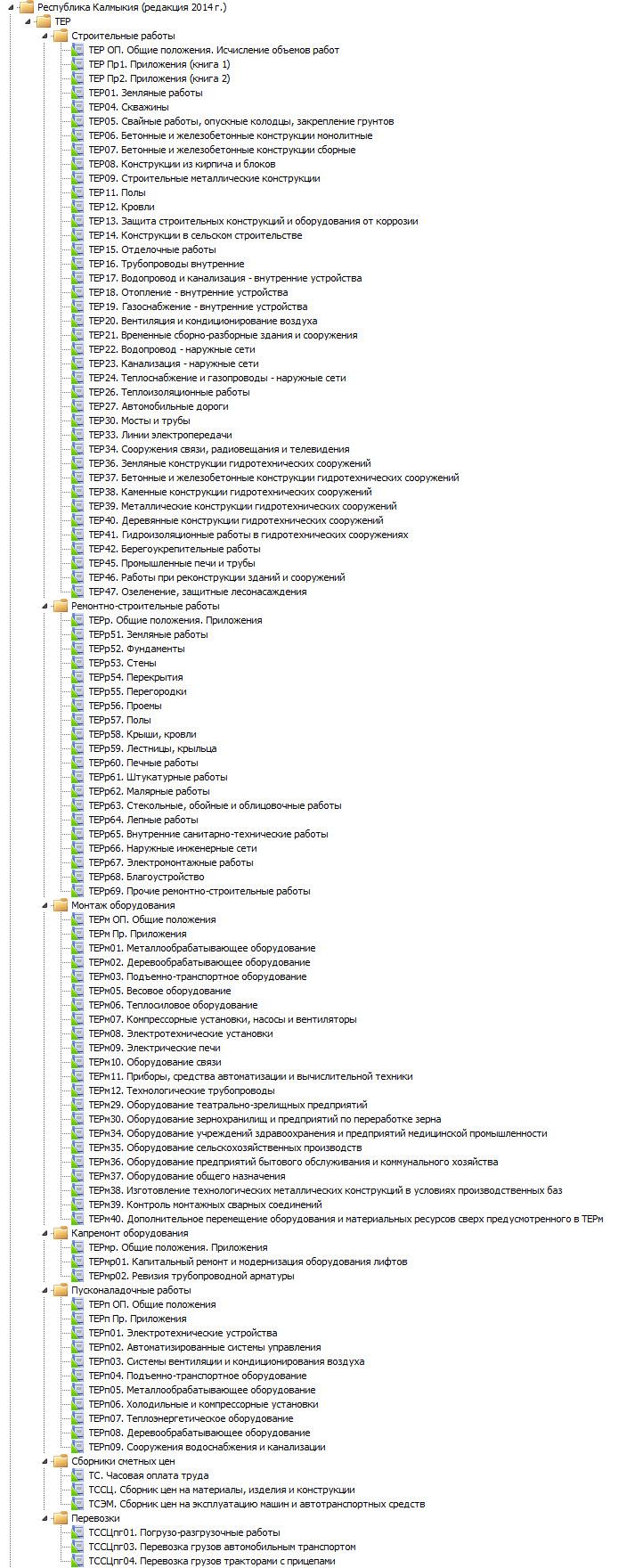 ТЕР-2001 в ред. 2014г.  Республика Калмыкия